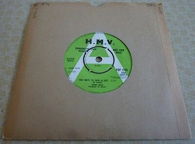 Jimmy Reed, Two Ways To Skin (A Cat) 1966 Uk Hmv Record Label Demo 45 Single.