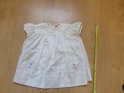 vintage 1960's baby dress Ticka -t number 16 made in england