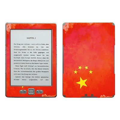Disagu Skin für Amazon Kindle 4 eReader CHINA 846 Aufkleber Schutz-Folie