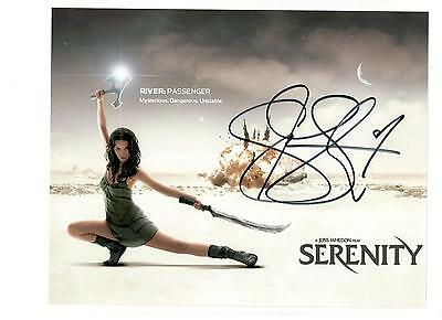 Summer Glau Authentic Signed Autograph Montreal Comiccon 2016 Firefly Arrow