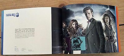 Doctor Who BBC promotional booklet including classic Who and Matt Smith, 2012