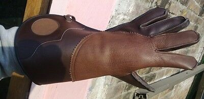 Falconry Beautiful Brown Color  Glove Sizes Available