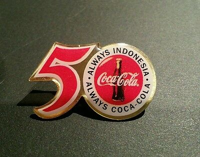 Coca Cola 50 Always Indonesia Pin-New-Check It Out-