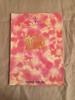 1986 - 1992 Collection of MISS UNIVERSE Program Books - Great condition!