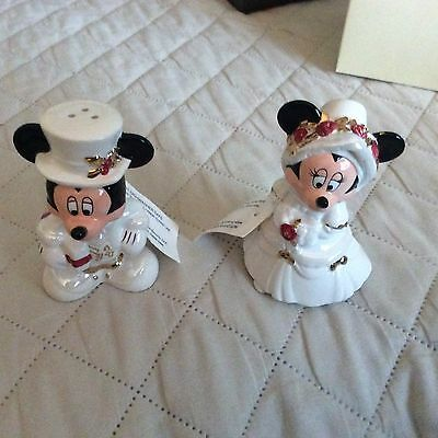 Disney Mickey and Minnie Salt and Pepper Shakers NWT from Walt Disney Parks