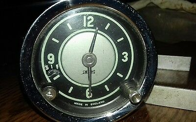 Vintage Smiths Car Clock ... believed to be new.. never fitted