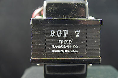 One NOS NIB Freed RGP-7 Power Transformer for  Vacuum Tube Applications