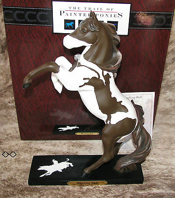 TRAIL OF PAINTED PONIES Wrecking Bull Low 1E/0223 ~ Rough & Tumble Cowboys ~
