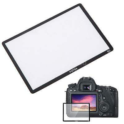 Fotga Pro LCD Optical Glass Screen Protector for Canon EOS 6D DSLR Camera H2W9