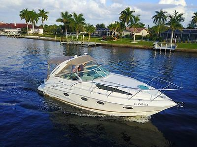 2003 Doral 280 SE. A powerful and agile luxury cruiser!