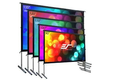 """NEW Elite Screen OMS100HR2 Yard Master 2 Series 100""""(16:9) Projector Screen"""