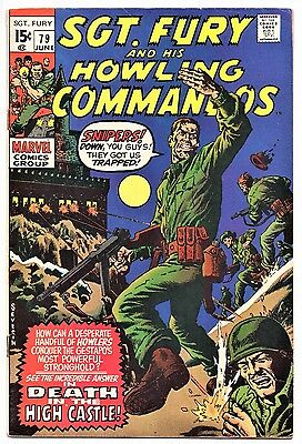 MARVEL COMIC Sgt Fury and His Howling Commandos (1963- 1981)   # 79  Fine +