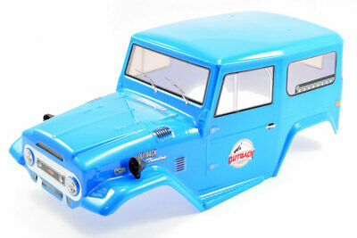 FTX Outback Tundra Painted Toyota Land Cruiser Style Bodyshell 1:10 Scale - Blue