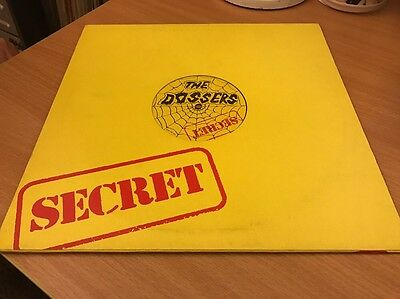 "The Dossers - Red Night 12"" 1983 Secret Records Nr Mint"