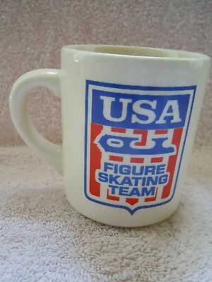 Vintage Campbell's Soup USA Figure Skating Team Mug