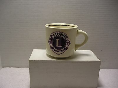 Vintage Lions Club 25th Anniversary Mug Williamson, WV  1970