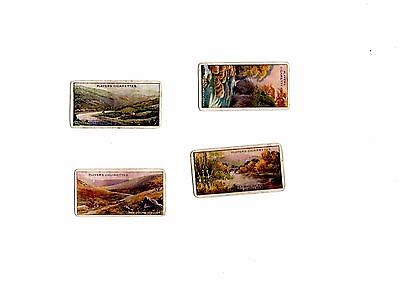 John Player Cigarette Cards - Spares - Gems Of British Scenery 6 15 18 25