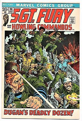 MARVEL COMIC Sgt Fury and His Howling Commandos (1963- 1981)   # 98  Very Fine -