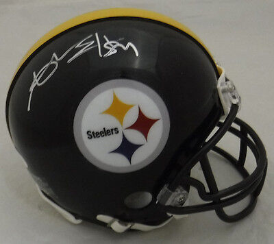 Antonio Brown Autographed Pittsburgh Steelers 10026 Riddell Mini Helmet Jsa
