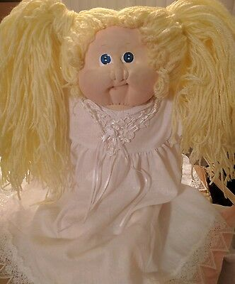 SOFT SCULPTURE~Cabbage Patch Kid/Little people~VINTAGE CLOTH DOLL~Xavier Roberts