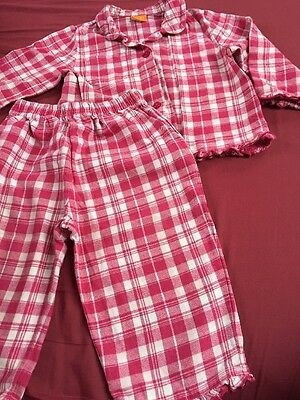 Lovely Checked Pyjamas, 12-18 Months, VGUC