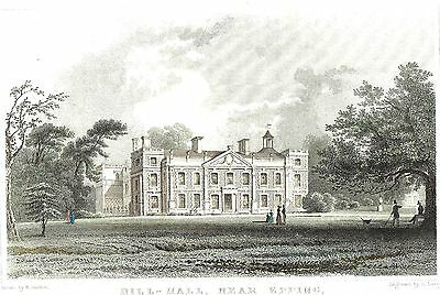 Hill Hall, Near Epping - Seat of Sir W. Smythe  - Eng. after W. H. Bartlett 1831