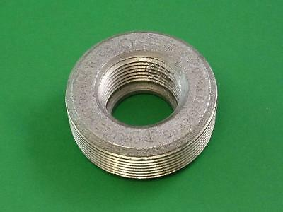 """COOPER CROUSE HINDS RE63 Threaded Iron Alloy 2"""" x 1"""" Reducing Bushing"""