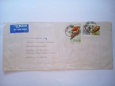 Kenya Kendu Bay 1975 Stamped Cover Air Mail To London England
