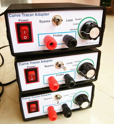 I-V Curve Tracer adapter XY mode Oscilloscopes for components testing