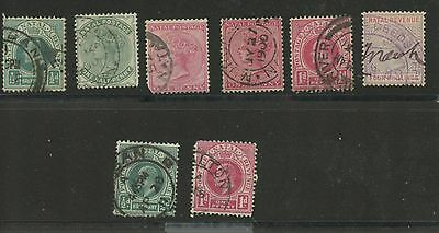NATAL--Accumulation of 8 stamps
