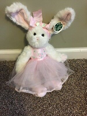 Bearington Bears Bunny Tippy Toes 14 Inches Perfect for your little ballerina!