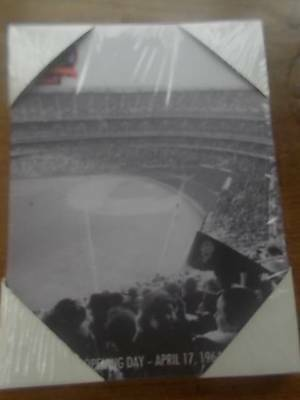 New York METS Baseball 50th Anniversary Canvas Photo NEW & Sealed Memorabilia