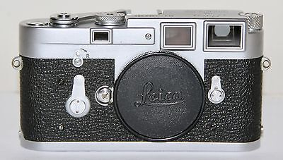 Leica M3 SS Rangefinder Body Fully Serviced Made In Germany 1962 Works Great