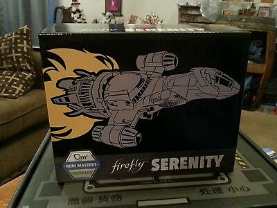 Firefly Cargo Crate Mini Masters Serenity Vehicle Loot Crate Exclusive Ship