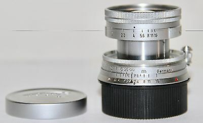 Leica 50mm f/2 Collapsible Summicron M Made In Germany 1955