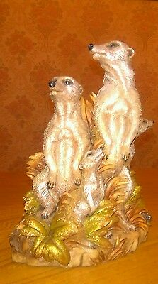 From The Earth Paka Meerkat Ornament Sculpture By Ann Richmond