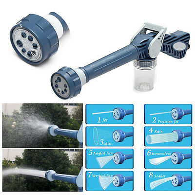 BG151 Multifunction Ez Jet Water Cannon 8 In 1 Turbo Water Spray Nozzle