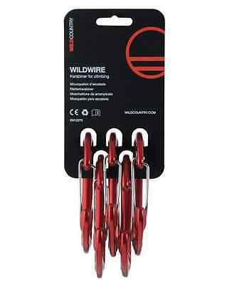 Wild Country Wildwire Karabiner Set of 5 [RRP £35]