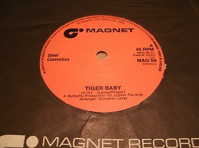 Silver Convention - Tiger Baby  Mag69 Uk 1976