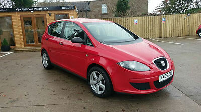 SEAT ALTEA 1.6 8v REFERENCE 5DR RED