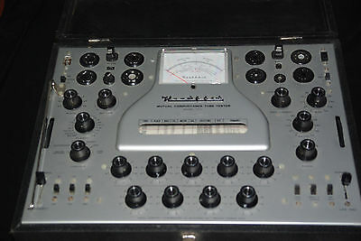 One Heathkit TT-1 Vacuum Tube Mutual Conductance Tester, in Working Condition