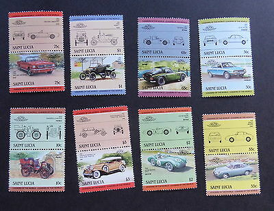 St Lucia 1984 Cars Automobiles SG745/60 unmounted mint MNH UM