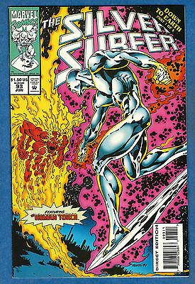 THE SILVER SURFER # 93 - Marvel 1994 (vf) Down To Earth Pt. 1