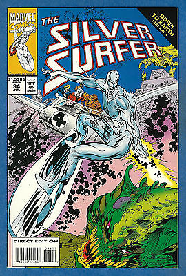 THE SILVER SURFER # 94 - Marvel 1994 (vf) Down To Earth Pt. 2