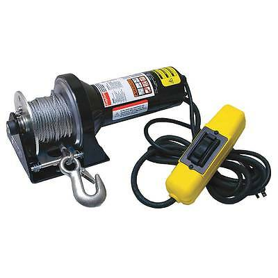 NEW 5W659A Dayton Electric Winch 1/2HP 115 Volt 1000lb FAST SHIPPING 45 ft Cable