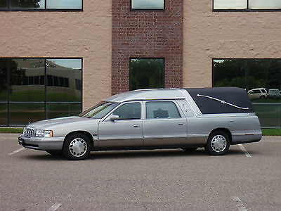 1997 Cadillac DeVille Funeral Coach Eagle Cadillac Ultimate Hearse Crown Roof Funeral Coach Hearse
