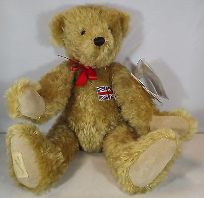 "Large 16"" Dean's Rag Book 'british Bear' Ltd. Ed. Mohair Teddy Bear"