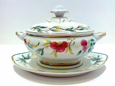 Vista Alegre Lychee Tureen with lid and undertray