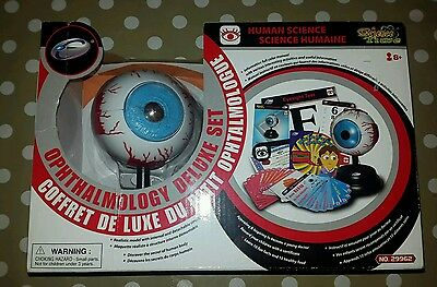 human science ophthalmology deluxe set. 3d eye model