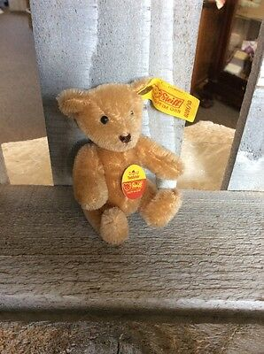 "Steiff 4"" Tan Bear. EAN 0201/10"